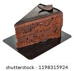 Piece Of Sweet Chocolate Cake...