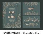 elegant khaki and beige colored ... | Shutterstock .eps vector #1198320517