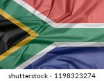 Fabric Flag Of South Africa....