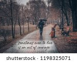 sometimes even to live is an... | Shutterstock . vector #1198325071