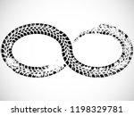 infinity symbol . looped vector ... | Shutterstock .eps vector #1198329781