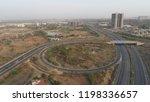 aerial view of 8 lane nehru...   Shutterstock . vector #1198336657