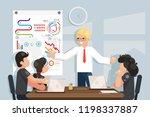 coaching business meeting ideas ... | Shutterstock .eps vector #1198337887
