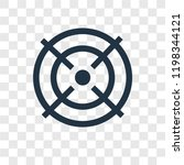 target vector icon isolated on...