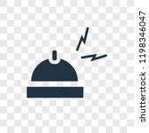 bell vector icon isolated on...