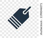 clothes label vector icon...