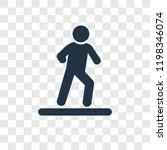 man walking to right vector...