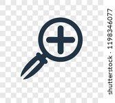 zoom button vector icon... | Shutterstock .eps vector #1198346077
