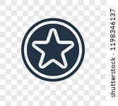 star point vector icon isolated ...