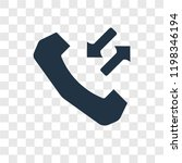 incoming calls vector icon...