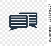 message balloon vector icon...