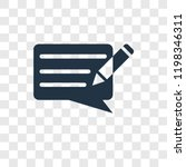 writing message vector icon...