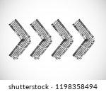 arrow sign .vector print... | Shutterstock .eps vector #1198358494
