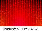light red vector pattern with... | Shutterstock .eps vector #1198359661