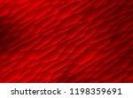 dark red vector backdrop with... | Shutterstock .eps vector #1198359691