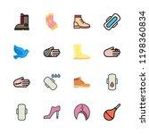 leg icon set. vector set about... | Shutterstock .eps vector #1198360834