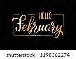 hand drawn lettering phrase... | Shutterstock .eps vector #1198362274