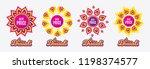diwali sales banners. best...   Shutterstock .eps vector #1198374577