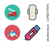 city icon set. vector set about ... | Shutterstock .eps vector #1198375591