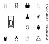 refreshment icon. collection of ... | Shutterstock .eps vector #1198409971