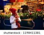 children shopping on...   Shutterstock . vector #1198411381