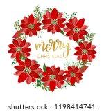 merry christmas card design...   Shutterstock .eps vector #1198414741