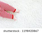 close up of baby body and legs... | Shutterstock . vector #1198420867