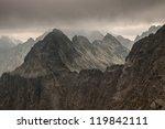 beautiful landscape in tatra... | Shutterstock . vector #119842111