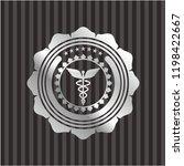 caduceus medical icon inside... | Shutterstock .eps vector #1198422667