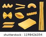 italian pasta realistic icon.... | Shutterstock .eps vector #1198426354