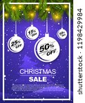 christmas special offer gifts... | Shutterstock .eps vector #1198429984