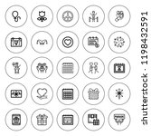 day icon set. collection of 25...