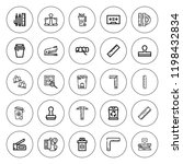 supplies icon set. collection...   Shutterstock .eps vector #1198432834