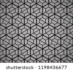 the geometric pattern with... | Shutterstock .eps vector #1198436677