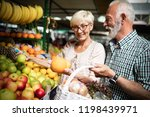 only the best fruits and... | Shutterstock . vector #1198439971