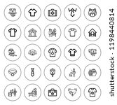 collar icon set. collection of...   Shutterstock .eps vector #1198440814