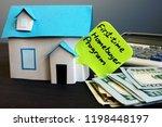first time homebuyer program... | Shutterstock . vector #1198448197