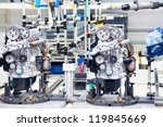 manufacturing parts for car... | Shutterstock . vector #119845669