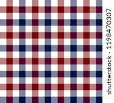 red blue and white lumberjack... | Shutterstock .eps vector #1198470307
