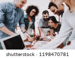 project. look. young people....   Shutterstock . vector #1198470781