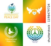 international day of peace... | Shutterstock .eps vector #1198479724