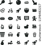 solid black flat icon set image ... | Shutterstock .eps vector #1198482217