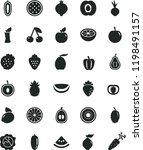 solid black flat icon set beet... | Shutterstock .eps vector #1198491157