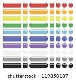 glass button | Shutterstock . vector #119850187