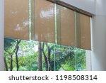 close up luxury long blind ... | Shutterstock . vector #1198508314