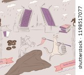 saint petersburg seamless...   Shutterstock .eps vector #1198517077