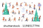 bundle for christmas sale.... | Shutterstock . vector #1198517794