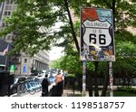 chicago  usa   june 06  2018 ... | Shutterstock . vector #1198518757