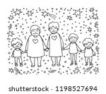 elderly gay woman couple wit... | Shutterstock .eps vector #1198527694