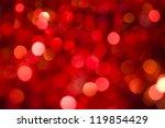Red Twinkling Lights  Festive...